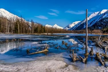 Alaskan Mountain Landscape