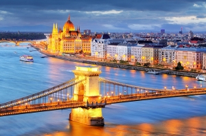 Budapest, On The Danube River And The