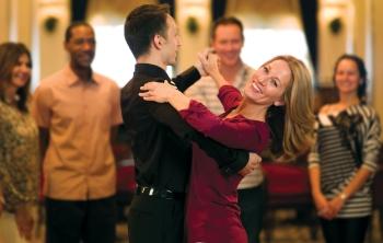 Ballroom Dancing aboard a Cunard Cruise