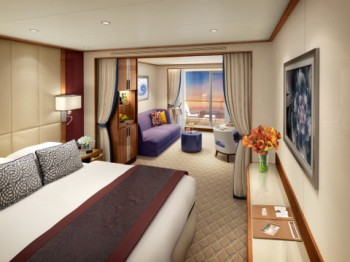 Seabourn Encore - Veranda Suite