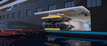Scenic Eclipse Submarine