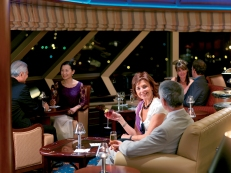 Cunard Wine Tasting