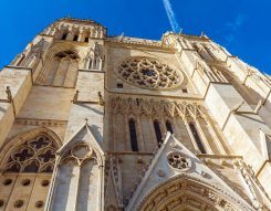 Gothic Saint Andre Cathedral, Bordeaux France