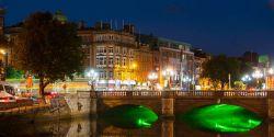 Liffey River in Dublin, Ireland