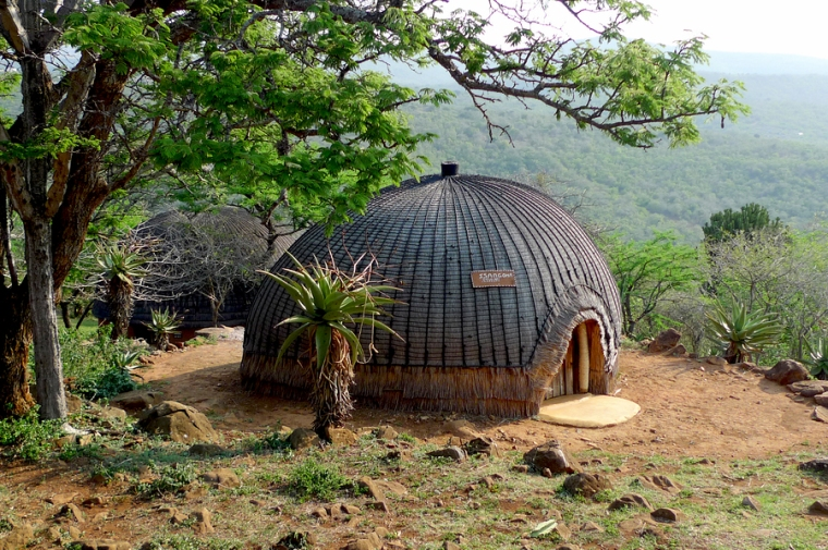 Isangoma house in Shakaland Zulu Village