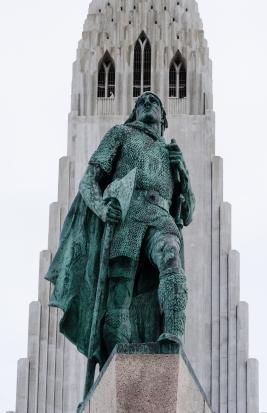 Leif Ericksson statue