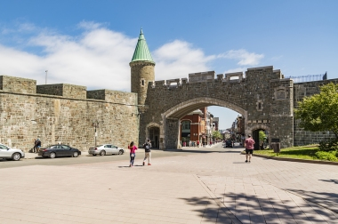 Porte Saint Jean Old Quebec City, Canada