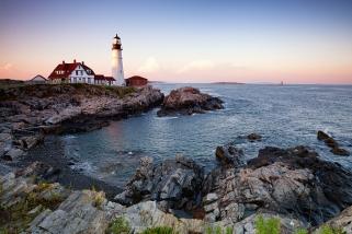 Portland Head Lighthouse Cape Elizabeth, Maine, USA